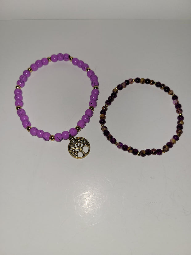 Tree of Life Bracelet Set