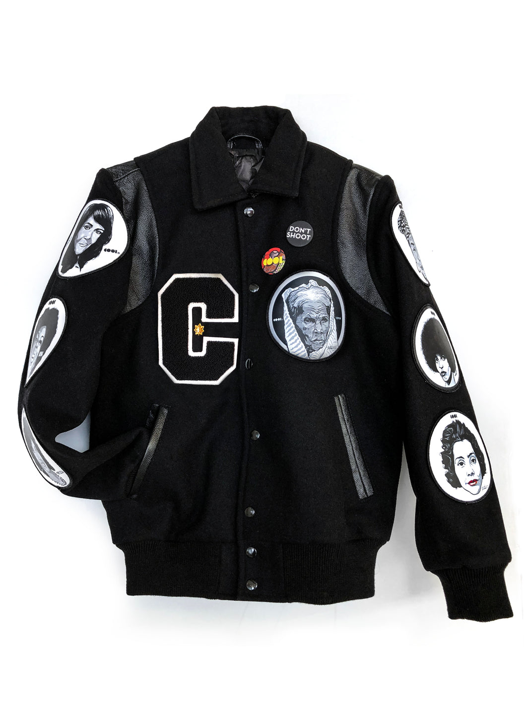 Cool Icons Varsity Letterman Jacket