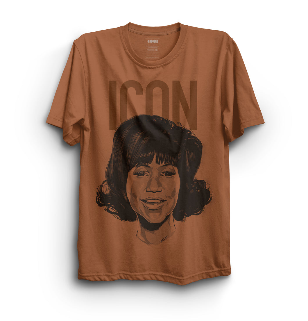 Aretha Franklin Icon Shirt