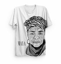 Load image into Gallery viewer, Maya Angelou Sublimation Shirt (SOLD OUT: ON BACKORDER)