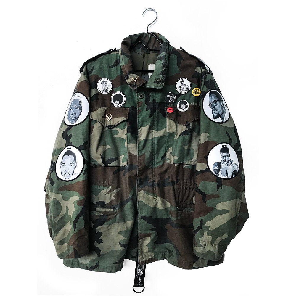 Icons Surplus Camo Jacket