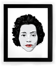 Load image into Gallery viewer, Coretta Icon Collectible Framed Art