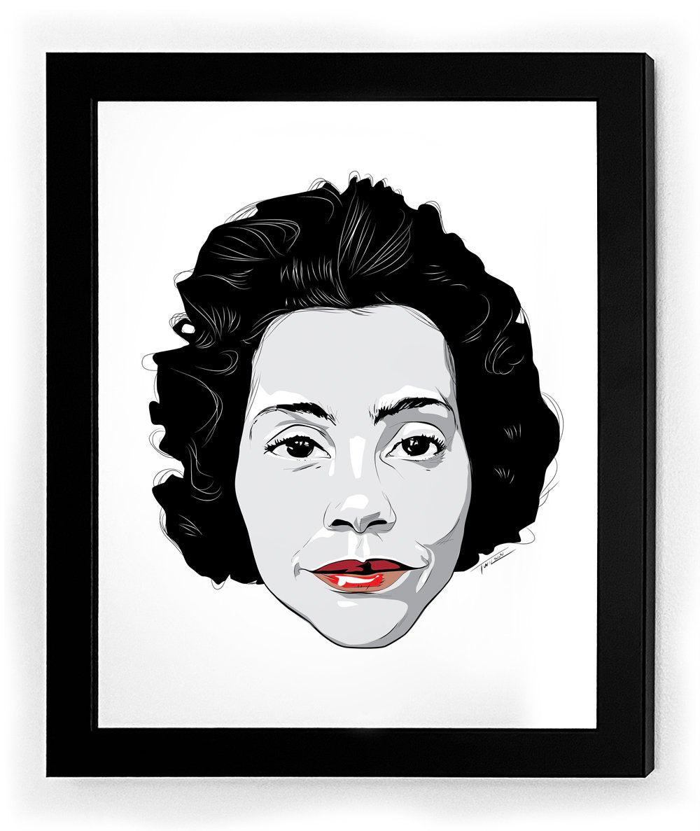 Coretta Icon Collectible Framed Art