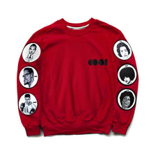 Load image into Gallery viewer, Cool Icons Crewneck Sweatshirt with Patches