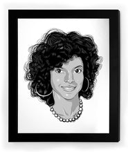 "Load image into Gallery viewer, Phylicia Rashad ""Clair Huxtable"" Icon Collectible Framed Art"