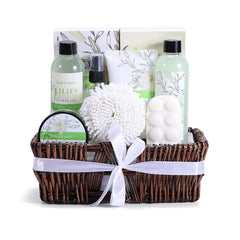 Lily Spa Gift Basket