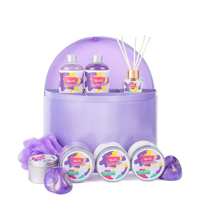 BFF Beauty Gift Sets Lavender Bath & Shower Jewelry Box