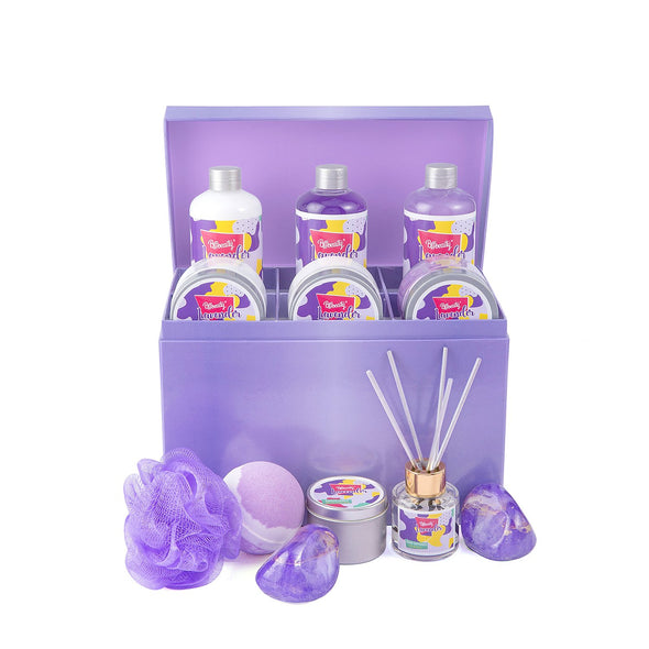 BFF Beauty Gift Sets Lavender Bath&Shower Jewelry Box Plus