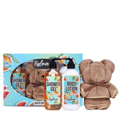 BFF Love Gift Sets Teddy Bear Spa Gift Box