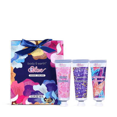Body & Earth Love Gift Sets Blooming Hand Cream Trio