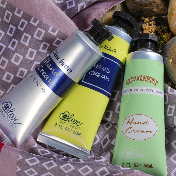 Body & Earth Love Gift Sets Starry Sky Hand Cream Trio