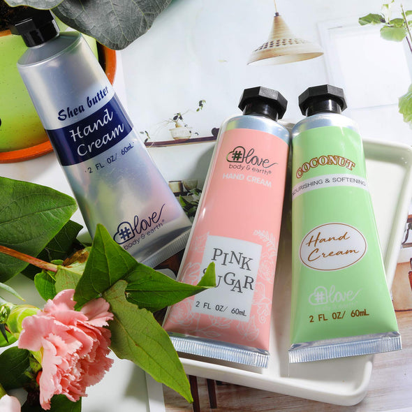 Body & Earth Love Gift Sets Vitality Hand Cream Trio