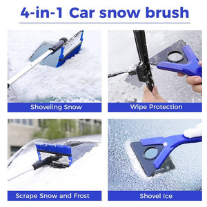 snowless™ 4 in 1 car snow removal