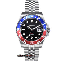 Load image into Gallery viewer, Parnis - GMT, Ceramic, Automatic, 40mm, 30M, Sapphire