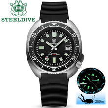 Load image into Gallery viewer, STEELDIVE - Tturtle, Automatic, NH35, 43.8mm, 200M, Sapphire