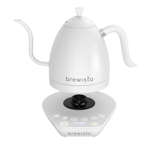 Load image into Gallery viewer, Brewista Artisan 1.0L Kettle - White On White  NEW PRODUCT