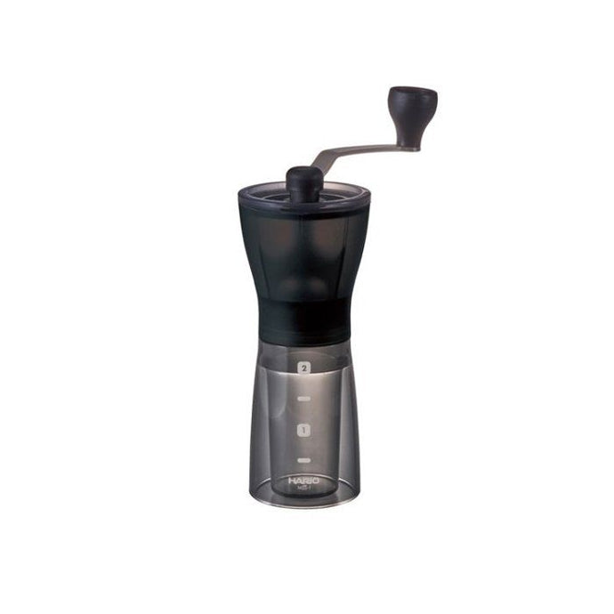 Hario Mini Coffee Mill Plus - Transparent Black
