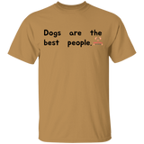 Dogs Are The Best People Short Sleeve Shirt