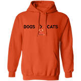 Dogs > Cats Hoodie
