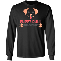 Puppy Pull Long Sleeve Tee