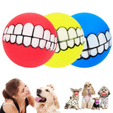 Funny Teeth Toy Ball
