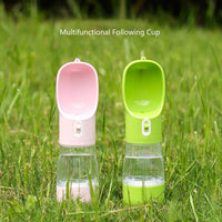 Portable Water Bottle & Feeder Combo