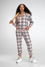 Load image into Gallery viewer, Women's Tracksuit Set in Peach