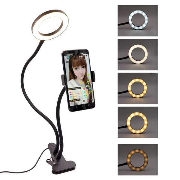 Mini Influencer LED Smart phone holder Light - DAINTYBELLA