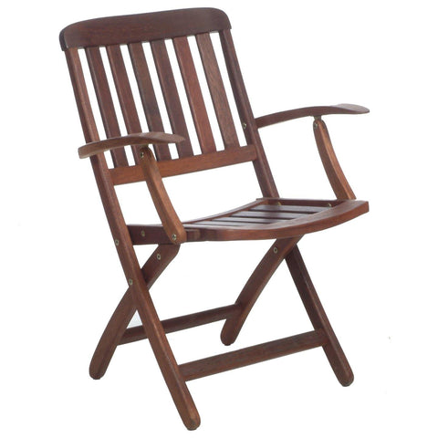 Pegu Folding Arm Chair - Sitra Global