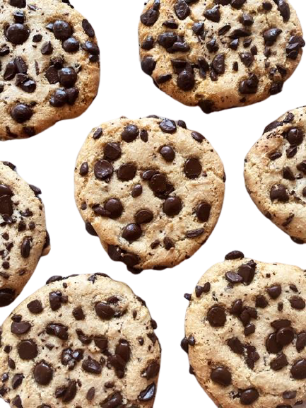 Chocolate Chip Cookies (GF, DF, V, P)