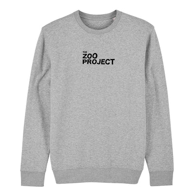 The Zoo Project Black Logo Unisex Iconic Sweatshirt-The Zoo Project Store