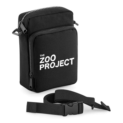 The Zoo Project White Logo Multi-Pocket Belt Bag-The Zoo Project Store