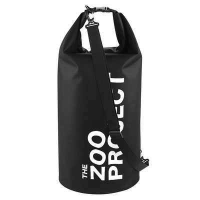 The Zoo Project White Logo Waterproof Dry Tube Bag-The Zoo Project Store