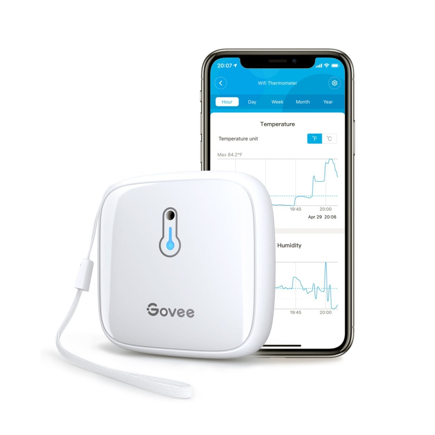 Image of Govee Bluetooth Indoor Thermo-Hygrometer