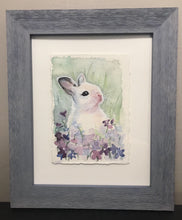 Load image into Gallery viewer, The Bunnies- Original Watercolors, Framed (set of 3)