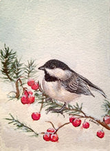 Load image into Gallery viewer, Chickadee- Fine Art Print