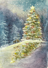 Load image into Gallery viewer, Christmas Tree- Fine Art Print