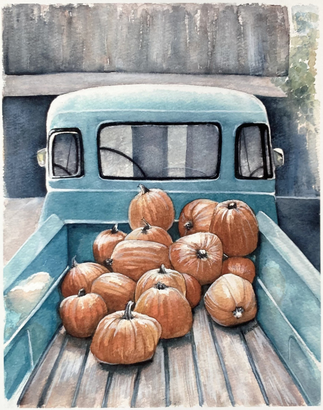 Pumpkin Truck- Boxed Set