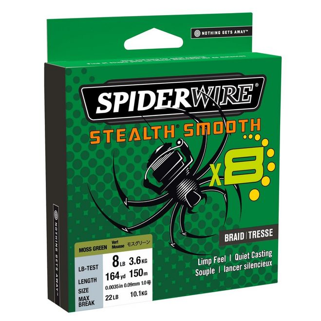 SpiderWire Stealth® Smooth8
