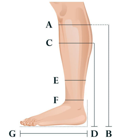 Measurement guide Classic Boots UK