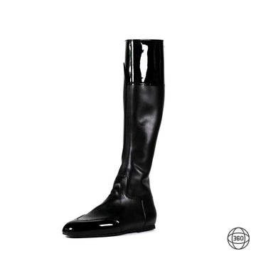 National hunt boots in leather for horse racing jockeys