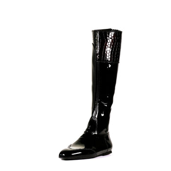Flat made to measure horse racing boots for jockeys