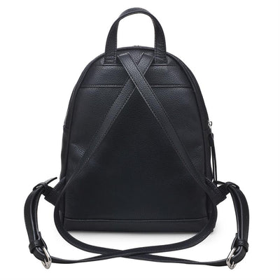 Urban Expressions Ashleigh Backpacks 840611121417 | Black