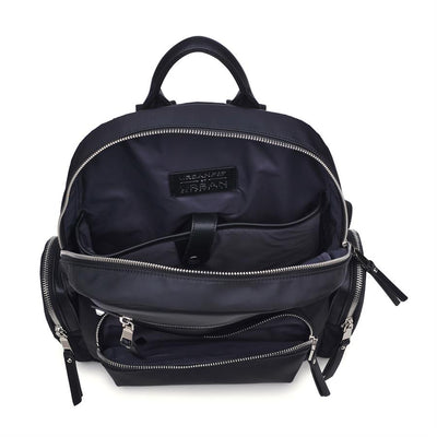 Urban Expressions Pirouette Backpacks 840611137944 | Black
