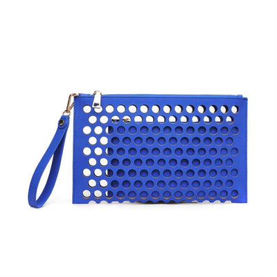 Urban Expressions Clover Clutches 840611115164 | Blue