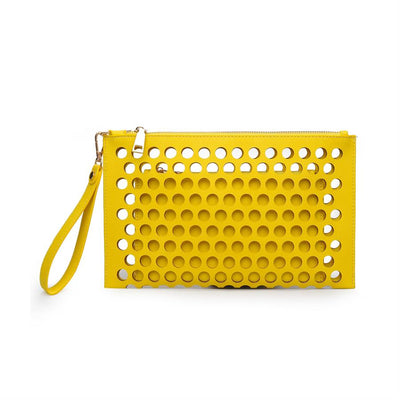 Urban Expressions Clover Clutches 840611115188 | Canary