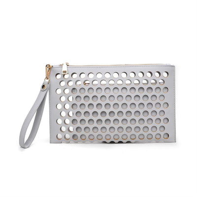 Urban Expressions Clover Clutches 840611115140 | Grey
