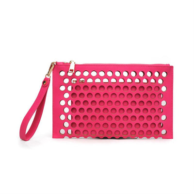 Urban Expressions Clover Clutches 840611115171 | Pink