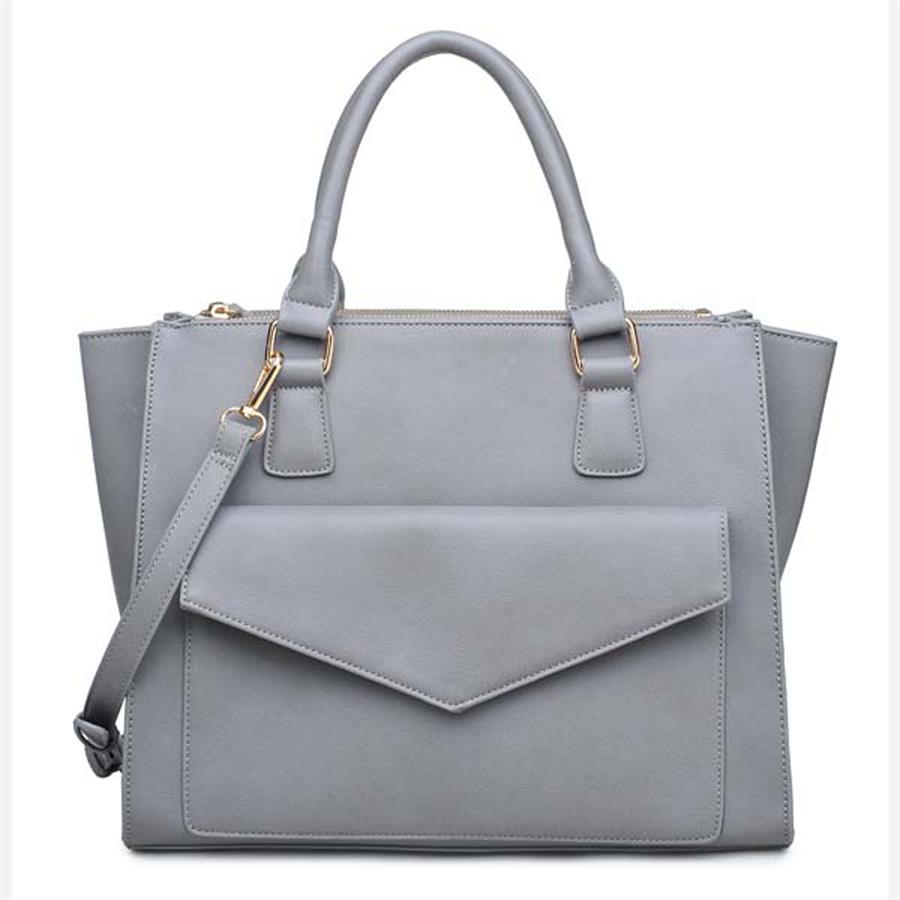 Urban Expressions Marlowe Handbags 840611119612 | Grey