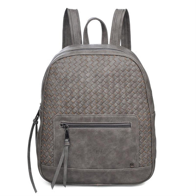 Urban Expressions Charlie Backpacks 840611119735 | Grey
